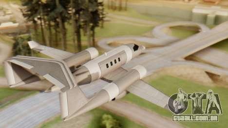 Clique Duas Vezes Shamal para GTA San Andreas esquerda vista