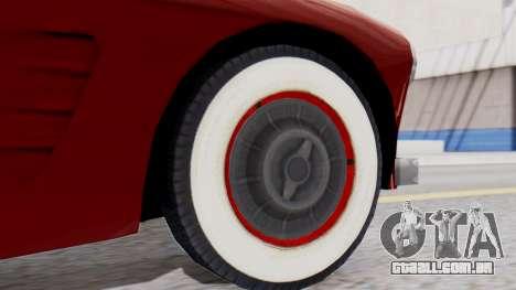 Ascot Bailey S200 from Mafia 2 para GTA San Andreas traseira esquerda vista