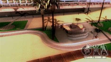 Nova praia em Los Santos para GTA San Andreas segunda tela