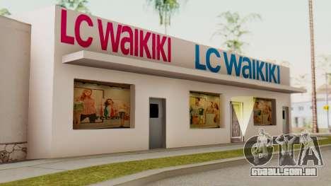 LC Waikiki Shop para GTA San Andreas segunda tela