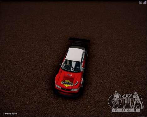 Toyota Mark 2 JZX100 Daigo Saito 2014 para GTA San Andreas traseira esquerda vista