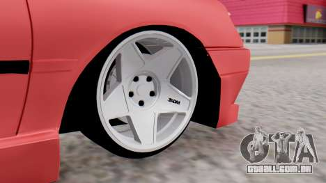 Peugeot 306 GTI para GTA San Andreas traseira esquerda vista