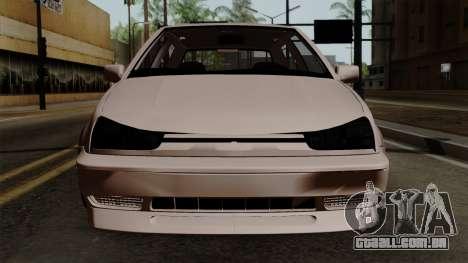 Volkswagen Golf 3 Shine para GTA San Andreas vista traseira