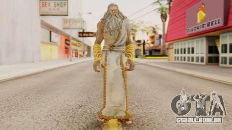 Zeus v1 God Of War 3 para GTA San Andreas segunda tela