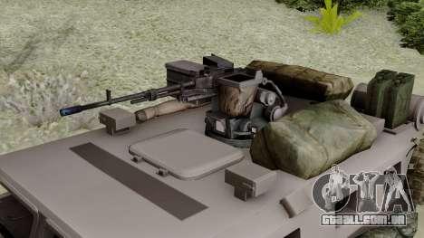 SPM-3 from Battlefiled 4 para GTA San Andreas vista direita