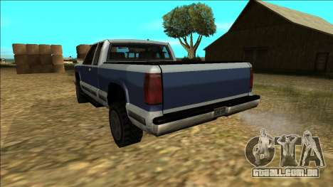 New Yosemite v2 para GTA San Andreas vista inferior