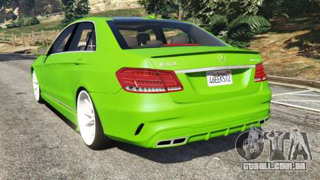 Mercedes-Benz E63 (W212) AMG v1.1 para GTA 5