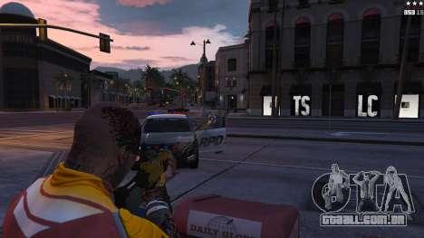 GTA 5 Visão Laser quarto screenshot