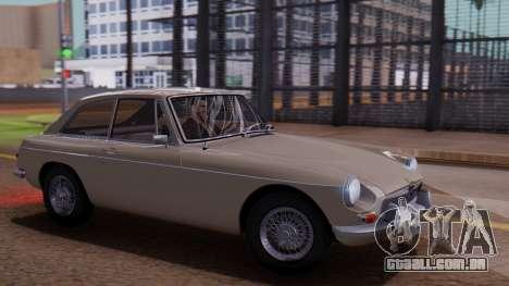 MGB GT (ADO23) 1965 FIV АПП para GTA San Andreas
