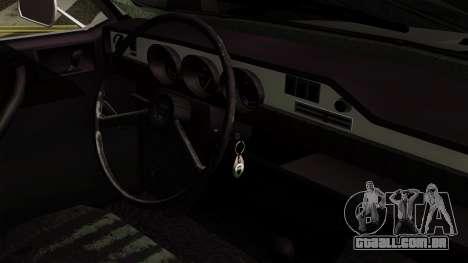 Dacia 1300 para GTA San Andreas vista direita