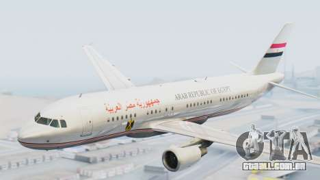 Airbus A320-200 Egyptian Air Force One para GTA San Andreas