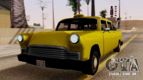 Cabbie New Edition para GTA San Andreas