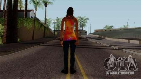 Curly Alara para GTA San Andreas terceira tela