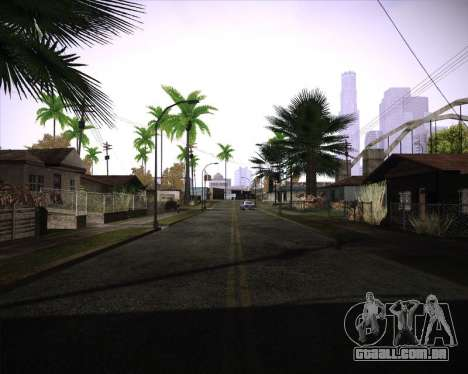 Professional Graphics Mod 1.2 para GTA San Andreas terceira tela