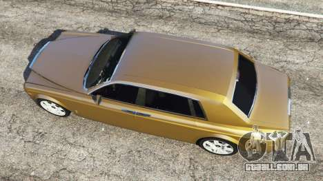 GTA 5 Rolls-Royce Phantom EWB v0.6 [Beta] voltar vista
