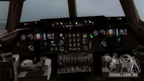 DC-10-30 Martinair para GTA San Andreas vista interior