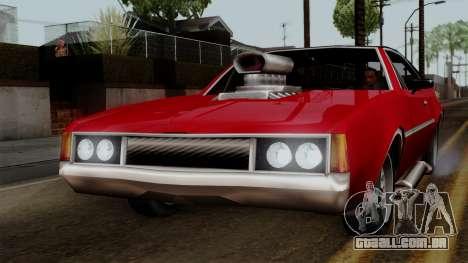 Muscle-Clover Beta v2 para GTA San Andreas esquerda vista