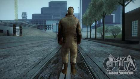 Order Soldier3 from Silent Hill para GTA San Andreas terceira tela