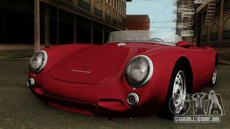 Porsche 550A Spyder 1956 para GTA San Andreas