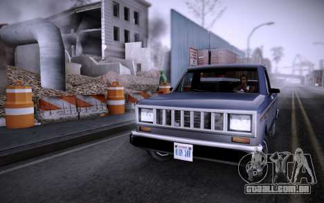 Edifício na Grove Street v0.1 Beta para GTA San Andreas segunda tela