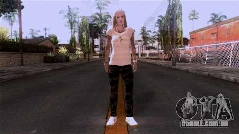 A pele da menina para GTA San Andreas segunda tela
