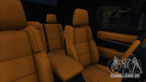 Jeep Grand Cherokee SRT8 para GTA San Andreas vista interior