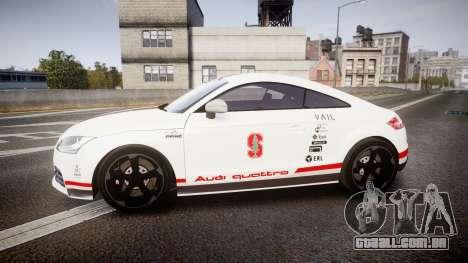 Audi TT RS 2010 Shelley para GTA 4 esquerda vista