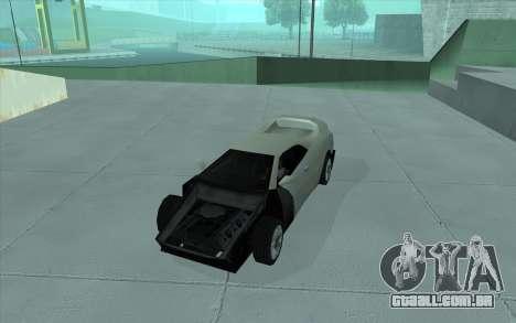 GTA 3 Infernus SA Style para GTA San Andreas vista traseira