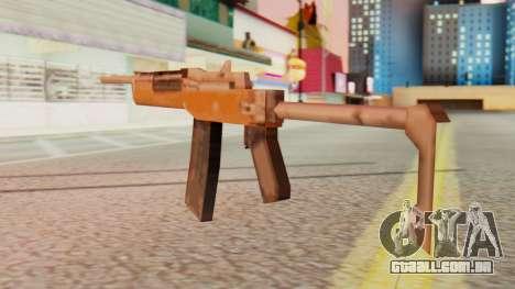 Ruger para GTA San Andreas segunda tela
