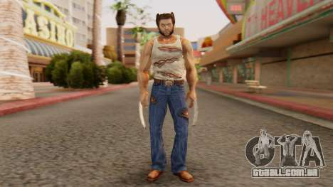 Wolverine v2 para GTA San Andreas segunda tela