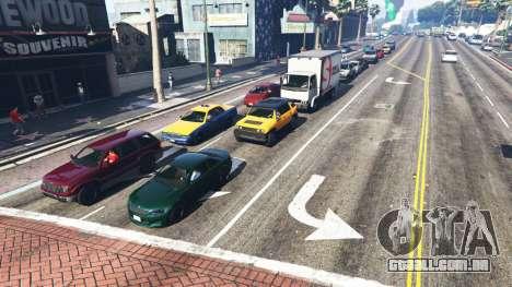 GTA 5 Realista, enchendo as ruas e estradas 8GBRAM terceiro screenshot