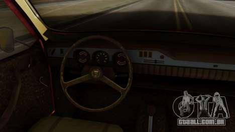 Dacia 1300 para GTA San Andreas traseira esquerda vista