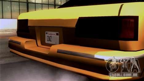 Taxi Kuruma 0.9 para GTA San Andreas vista direita