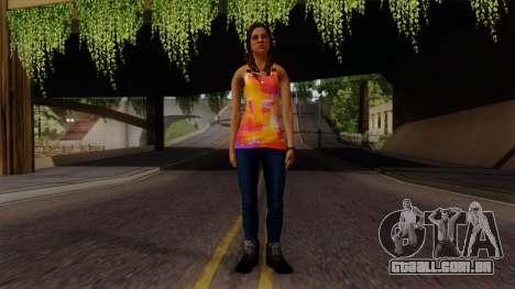 Curly Alara para GTA San Andreas segunda tela