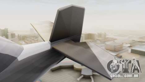 Um cropduster-Hidroavião v1.0 para GTA San Andreas traseira esquerda vista