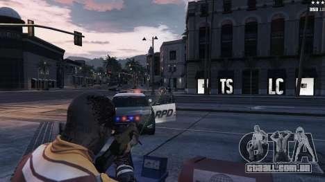 GTA 5 Visão Laser quinta imagem de tela