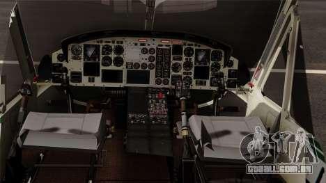 Bell UH-1N NAJA para GTA San Andreas vista direita