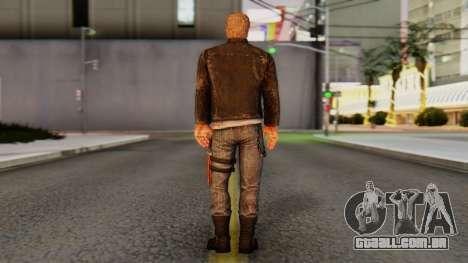 [DR3] Chuck Greene para GTA San Andreas terceira tela