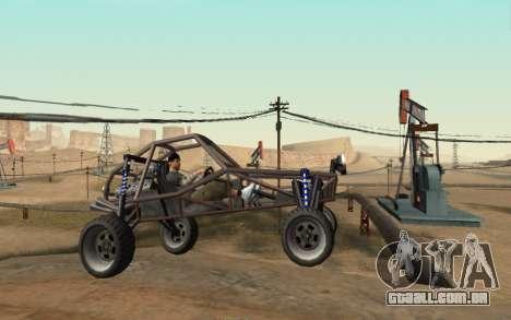 New Sky para GTA San Andreas terceira tela