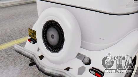 Smith V8 from Mafia 2 para GTA San Andreas vista traseira