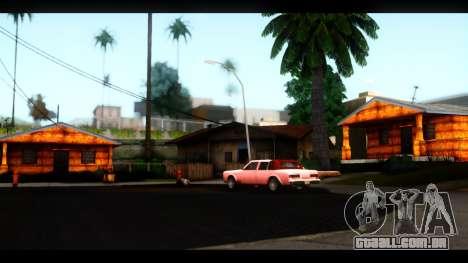 Novas texturas das casas ao redor grove Street para GTA San Andreas