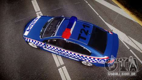 Holden VE Commodore SS Highway Patrol [ELS] v2.0 para GTA 4 vista direita