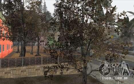 Árvores de WarFace para GTA San Andreas terceira tela