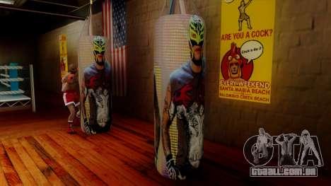 Pêra com Rey Mysterio para GTA San Andreas segunda tela