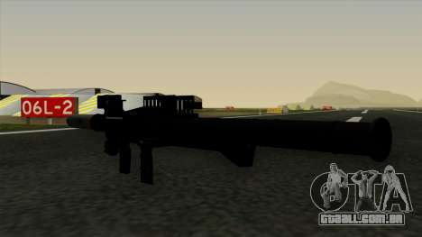 Homing Rocket Launcher para GTA San Andreas terceira tela