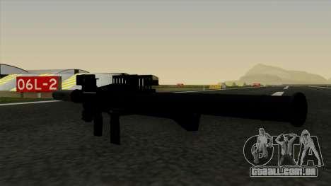 Homing Rocket Launcher para GTA San Andreas terceira tela