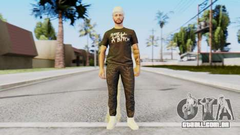 Personalized Skin from GTA Online para GTA San Andreas segunda tela