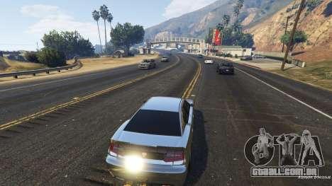 GTA 5 Realista velocidade do carro 1.3 terceiro screenshot