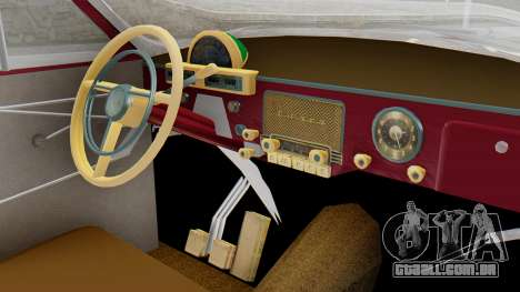 GAZ 21 Volga v2 para GTA San Andreas vista direita