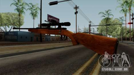 Original HD Sniper Rifle para GTA San Andreas terceira tela